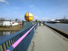 Der Kanal über der Weser