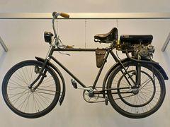 Fahrrad mit Hilfsmotor Steudel Saturn, 1925
