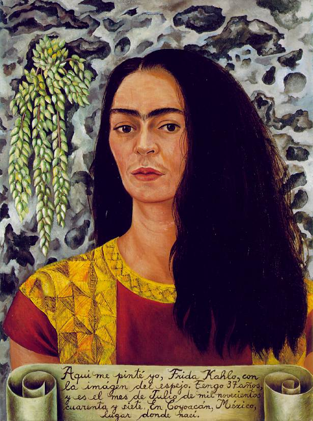 1947 Self-Portrait with Loose Hair