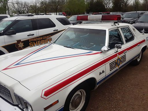 IL- Illinois State Police 1976 Plymouth Gran Fury