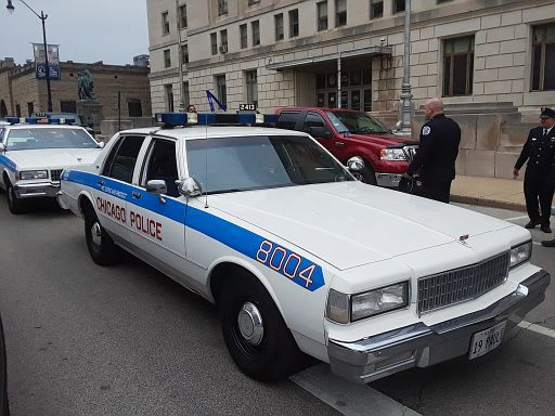 Chicago PD 1988 Chevy Caprice