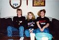 Brandon Hastings, Heather Hastings, and Melanie Austin