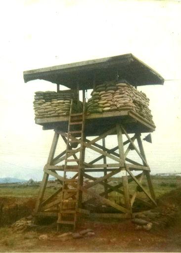 23-Guard Tower along the perimeter.