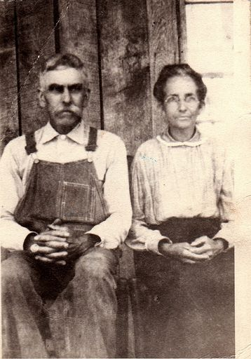 1-Robert Foust (1867-1945) and Martha Jane (ROACH) Foust (1871-1962)