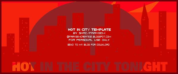 Hot in City Template FS