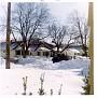 Virgie's street, N  Clemens, with heavy snowfall, 1967