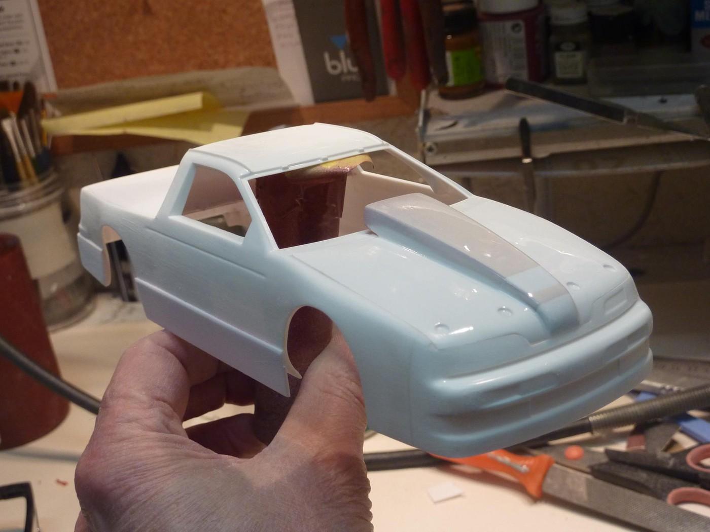 Ford T Bird Pickup racer Bonneville ( Ex Nascar) terminée  Photo5-vi