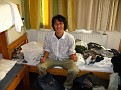One of my room mates.  He is from Japan.