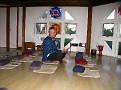 Sivananda Ashram Yoga Ranch... Getting ready for Satsang...