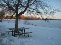 Picnic, antone? Remember... it's -18C! (-30 with the wind chill factor!)