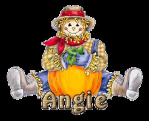 Angie - AutumnScarecrowSitting