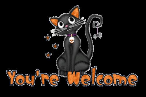 You're Welcome - HalloweenKittySitting