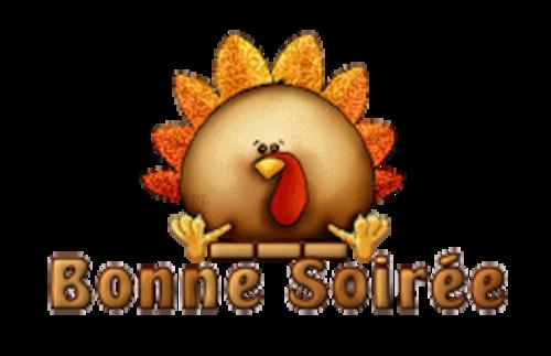 Bonne Soiree - ThanksgivingCuteTurkey