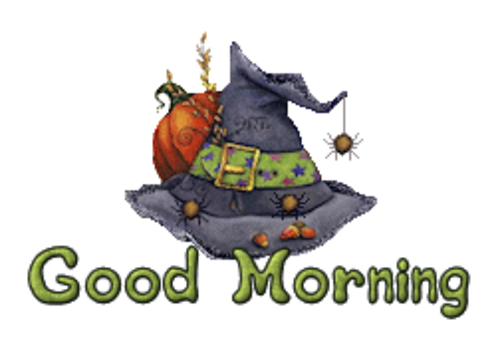 Good Morning - CuteWitchesHat