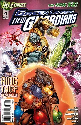 Green Lantern New Guardians #004