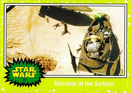 Journey to the Force Awakens Jabba Slime Green #067 (1)