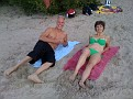 Sept 5-09 / 4:00 PM. On the Beach in Tallinn, Estonia with Dmitri, Katrin and Kids!!!  What a Fun Day!!!  We did a 3K run too ;-)