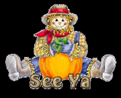 See Ya - AutumnScarecrowSitting