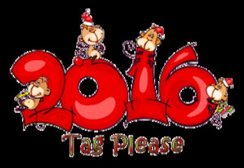 Tag Please - 2016WithMonkeys