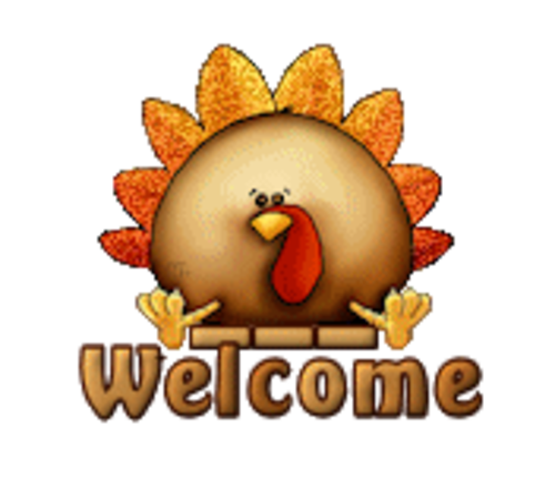 Welcome - ThanksgivingCuteTurkey