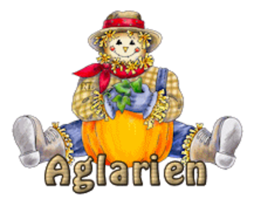 Aglarien - AutumnScarecrowSitting