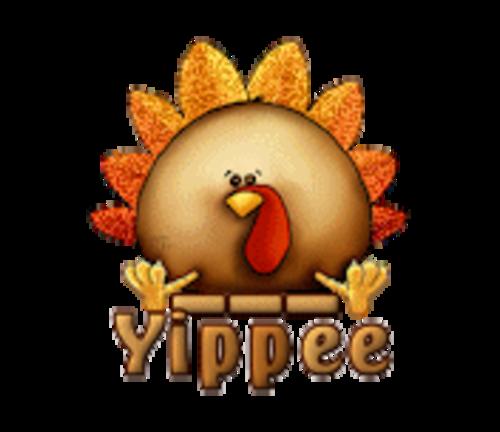 Yippee - ThanksgivingCuteTurkey