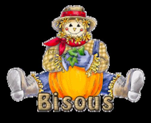 Bisous - AutumnScarecrowSitting