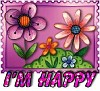 1I'm Happy-flwrs10-MC