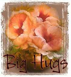 1Big Hugs-peachfloral