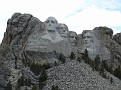 Washington, Jefferson, T. Roosevelt, Lincoln