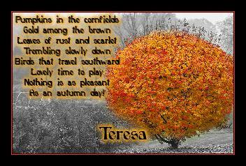 Teresa-gailz1109-Somewhere in October by IgorLaptev
