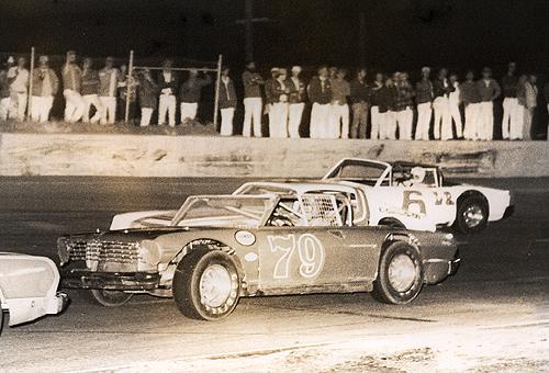 John Cartwright #79 get's under Lanny Pemberton