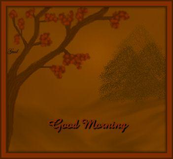 Good Morning-gailz1109-gailzs digital painting