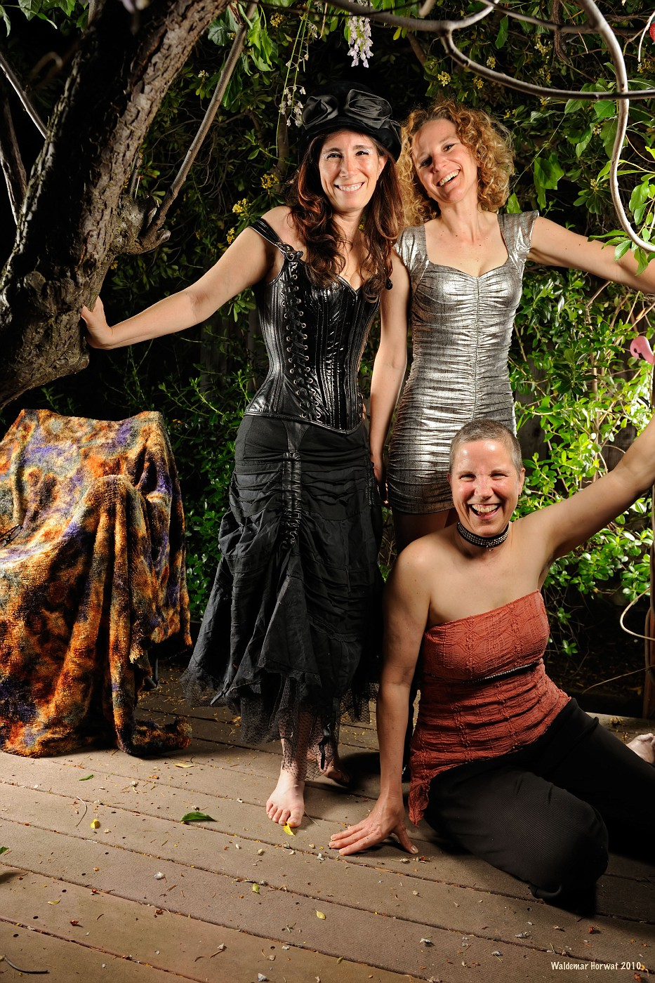 Melanie, Mango, and Anabelle