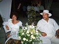 Mrs Jacqueline Lataillade and her husband Mr Lataillade