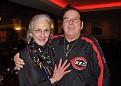 "February 29, 2010~Toni Ketchell with first responder, Harold ""Hook' Vines at the Cincinnati Airport Marriott."