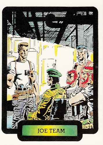 1987 Comic Images GI Joe #19 (1)