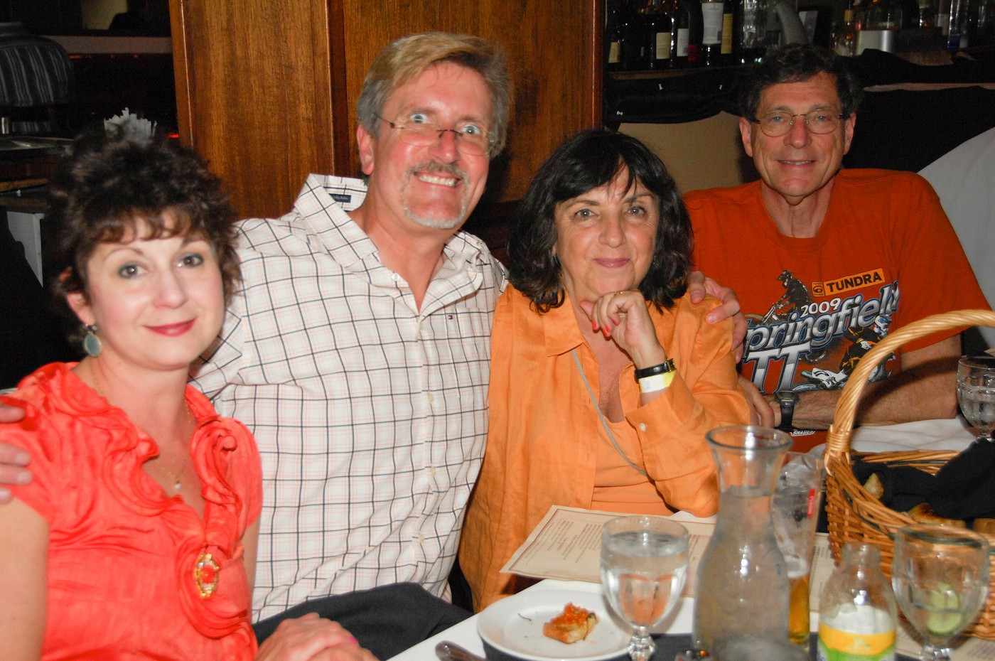Ruth Deluca, Al Deluca, Sandy Blum and Ed Blum