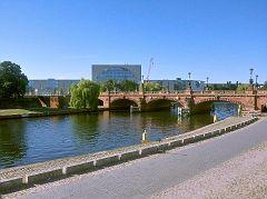 Moltkebrücke und Bundeskanzleramt