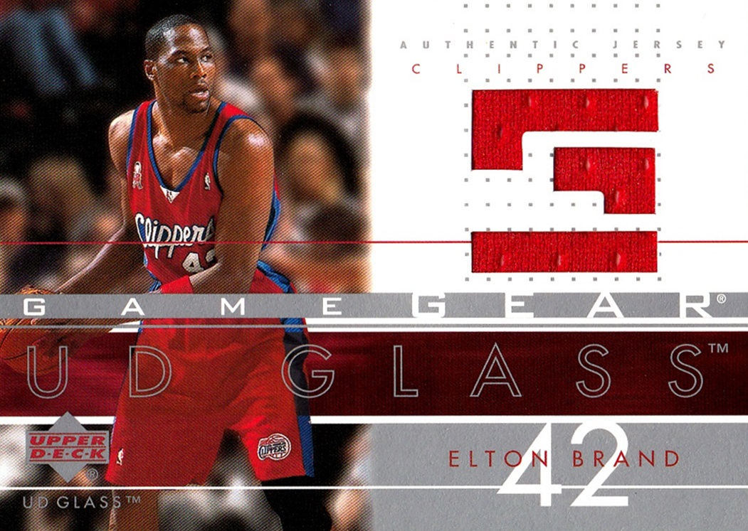 2002-03 UD Glass Game Gear Elton Brand (1)