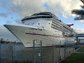 Carnival Pride docked in Port Canaveral