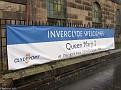 Welcome to Inverclyde sign for QM2