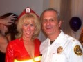 The Fire Chief & The Cop provided security for the evening
