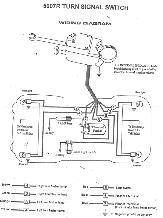 turn signal wiring question