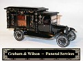 1925 Ford Model T Hearse-scale model