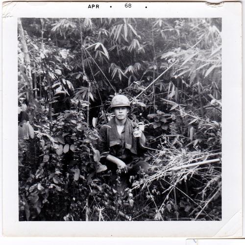 10-Dillard Massengale, somewhere in Vietnam, 1967 - 1968.