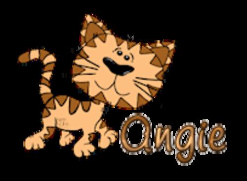 Angie - CuteCatWalking